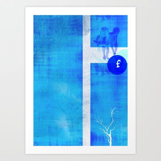 """f"" Art Print"