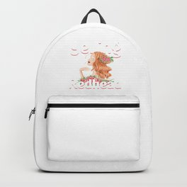 Not Yelling Redhead Red Hair Ginger Red Head Gift Backpack