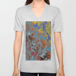autumn fresh rainy days Unisex V-Neck