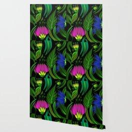 Floral,tropical design Wallpaper