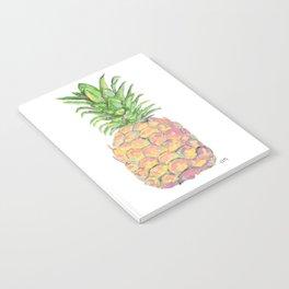 Brite Pineapple Notebook