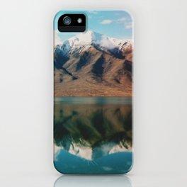 Film photo of New Zealand Glacier Landscape iPhone Case