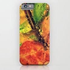 Wet Red Maple iPhone 6s Slim Case