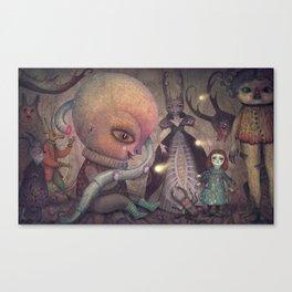 Welcoming the Omniscient Ones Canvas Print