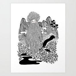 Cudak górski Art Print
