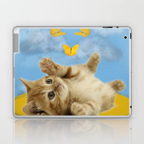 Kitty Wonder Laptop & iPad Skin