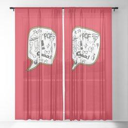 Sh… ! ! ! Sheer Curtain