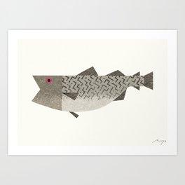 Codfish Art Print