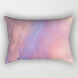 See the Dawn (Dawn Clouds Abstract) Rectangular Pillow