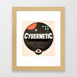 Cybernetic Eye Framed Art Print