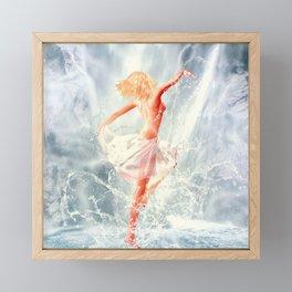 Naiad IV Framed Mini Art Print