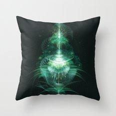 Digital Botanics Throw Pillow