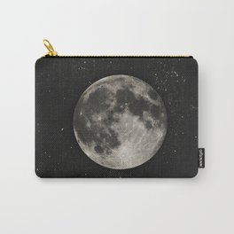 The Moon  [Sans Type] Carry-All Pouch
