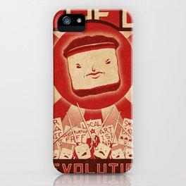 Tofu Revolution iPhone Case