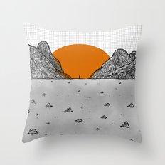 re birth Throw Pillow