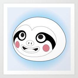 Animal Crossing - Leif (Line Art) Art Print