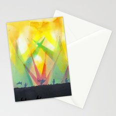 live concert painting Stationery Cards