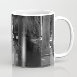 reflection of villa hügel, essen, germany Coffee Mug