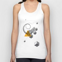 psychology Tank Tops featuring Archetypes Series: Elusiveness by Attitude Creative