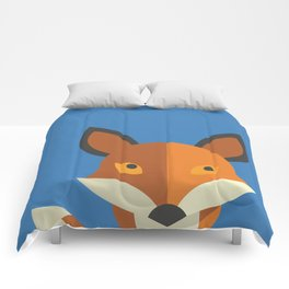 What does the fox say? Comforters