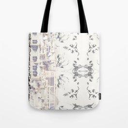 Toit de Paris Tote Bag