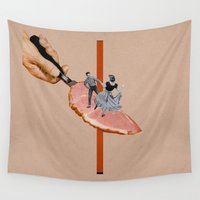 dancing Wall Tapestries featuring Dancing by Lerson