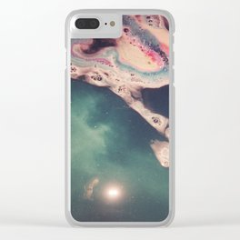 bath bomb Clear iPhone Case