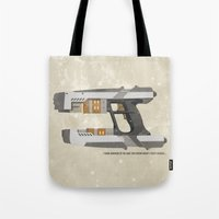 star lord Tote Bags featuring STAR LORD - PETER QUILL by LindseyCowley