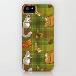 Squirreling (Earthtones) iPhone Case