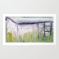 Building No. 5 Art Print