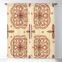 Mandalas in Pattern Blackout Curtain