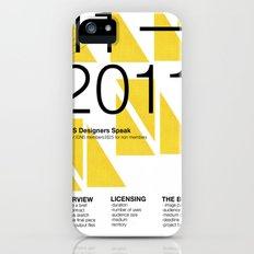 IGNS poster design Slim Case iPhone (5, 5s)