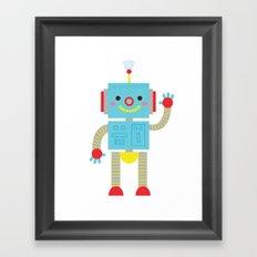 Sending Signals Framed Art Print