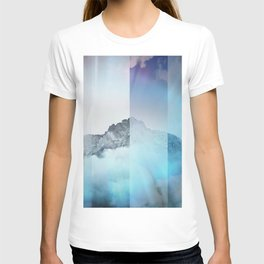 Boreal Lights on the Mountains T-shirt