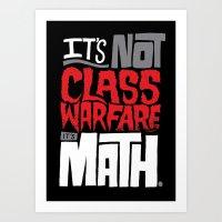 math Art Prints featuring It's Math by Chris Piascik