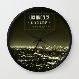 View from Griffith Wall Clock