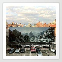 Alternate NYC Art Print