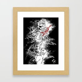 Big Boss Framed Art Print