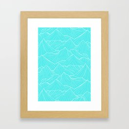 The Cold Blue Framed Art Print
