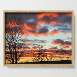 Sunset Serving Tray