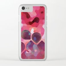 Drops of Passion Clear iPhone Case