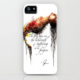 Labyrinth of Suffering iPhone Case