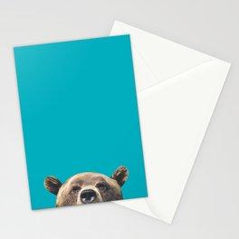 Bear - Blue Stationery Cards