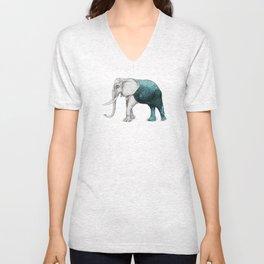 The Stone Elephant Unisex V-Neck