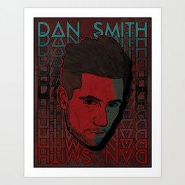 Dan Smith (Bastille) Art Print