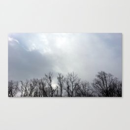 We Hid Our Secrets in the Clouds Canvas Print