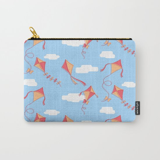kites and clouds Carry-All Pouch