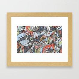 We See Framed Art Print