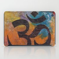 om iPad Cases featuring Om by Michael Creese