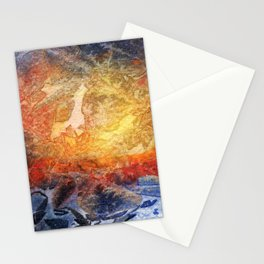 Visages Stationery Cards